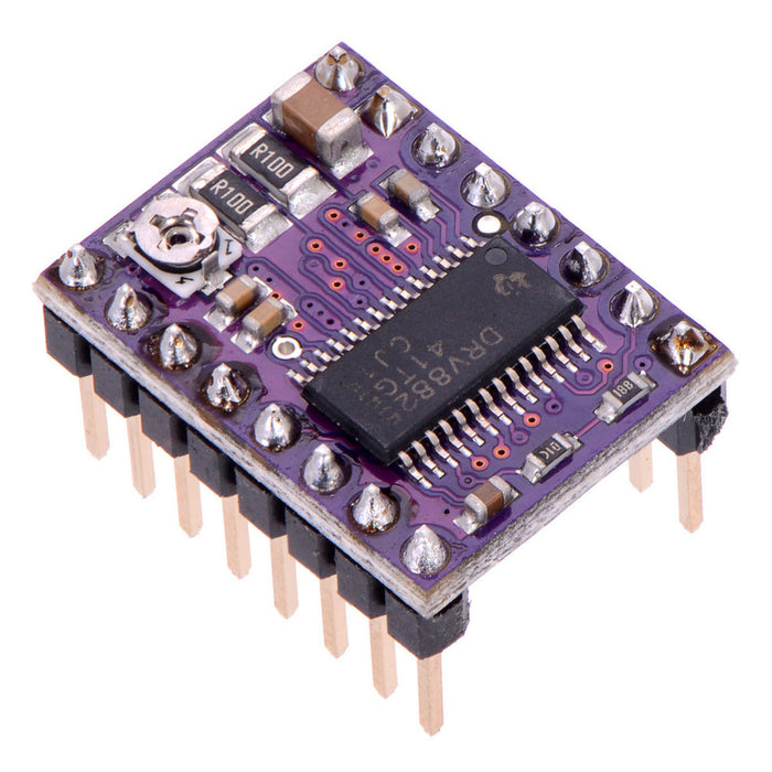 DRV8825 Stepper Motor Driver Carrier, High Current (Header Pins Soldered)