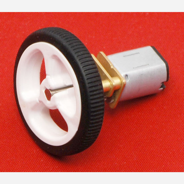 1000:1 Micro Metal Gearmotor MP 6V with Extended Motor Shaft