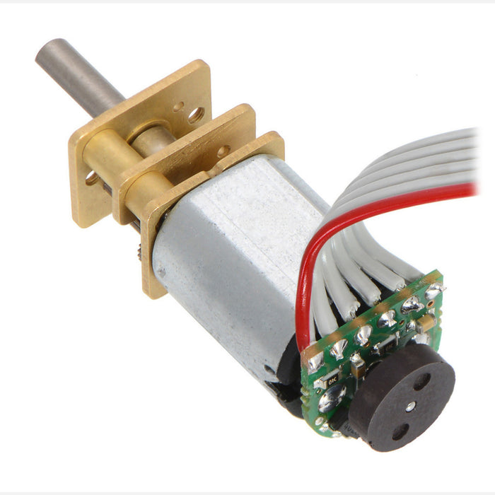 10:1 Micro Metal Gearmotor HPCB 6V with Extended Motor Shaft