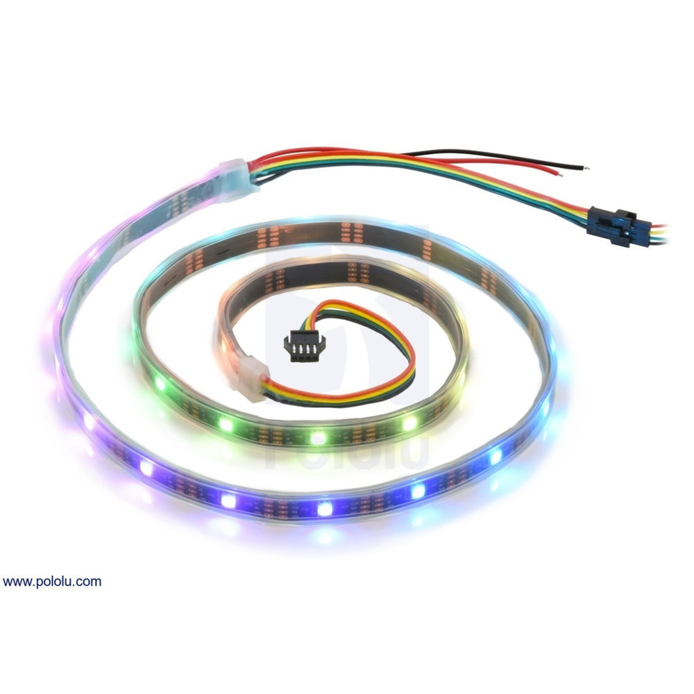Addressable RGB 30-LED Strip, 5V, 1m (SK9822)