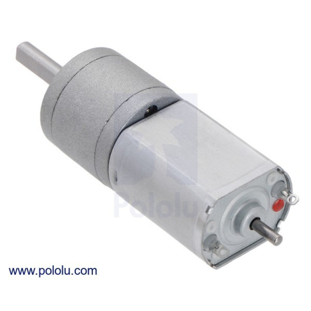 25:1 Metal Gearmotor 20Dx41L mm 12V CB
