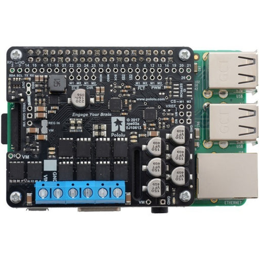 Pololu Dual G2 High-Power Motor Driver for Raspberry Pi - 18v22