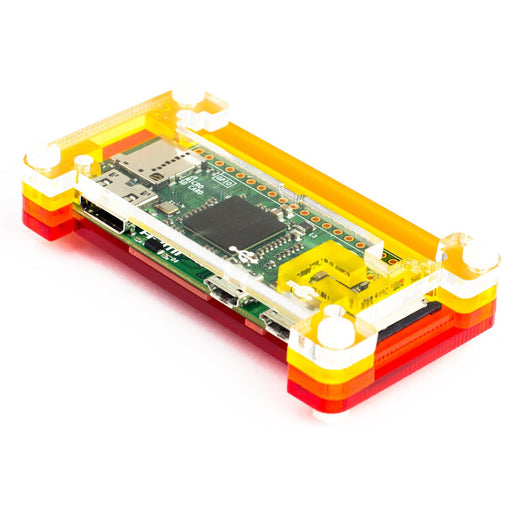 Pibow Zero Case for Raspberry Pi Zero version 1.3