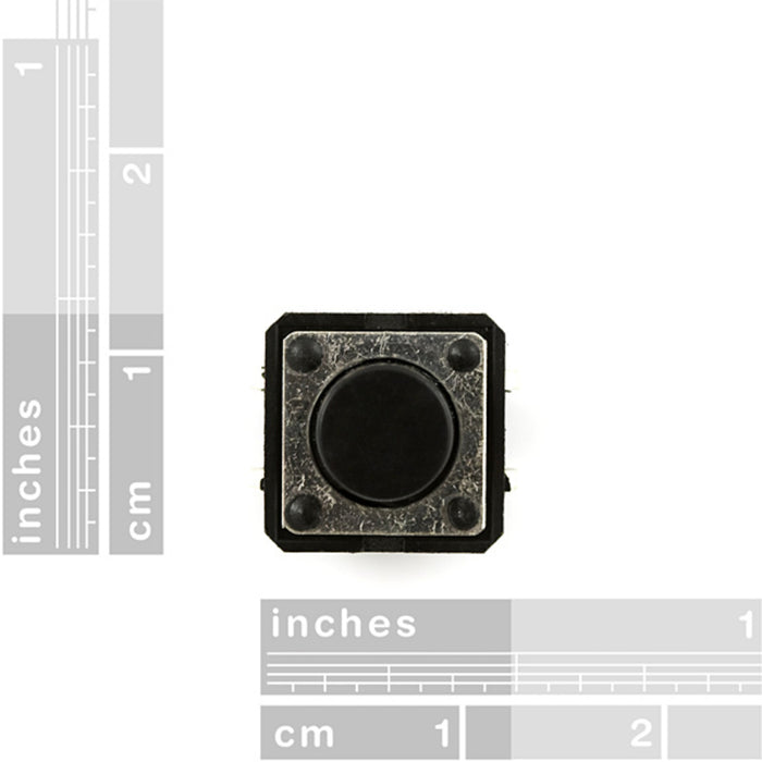 Momentary Pushbutton Switch - 12mm Square