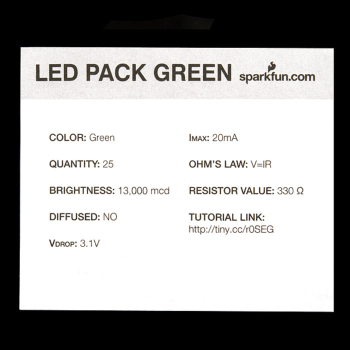 LED - Super Bright Green (25 pack)