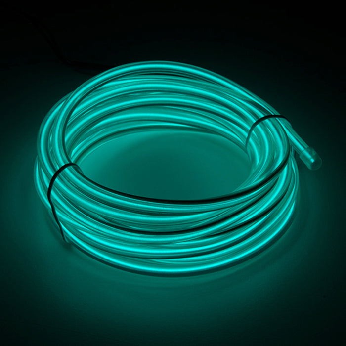Bendable EL Wire - Blue-Green 3m