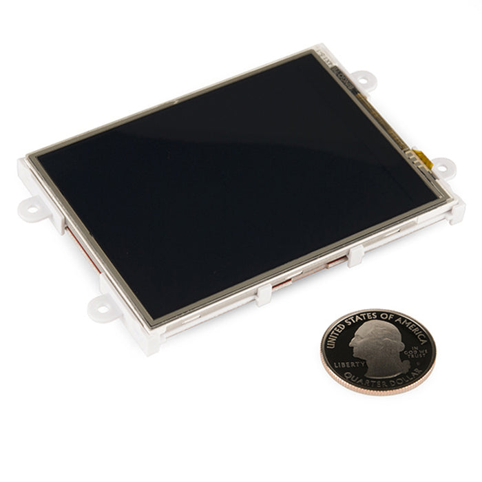 "Serial TFT LCD - 3.2"" with Touchscreen (uLCD-32PTU-GFX)"