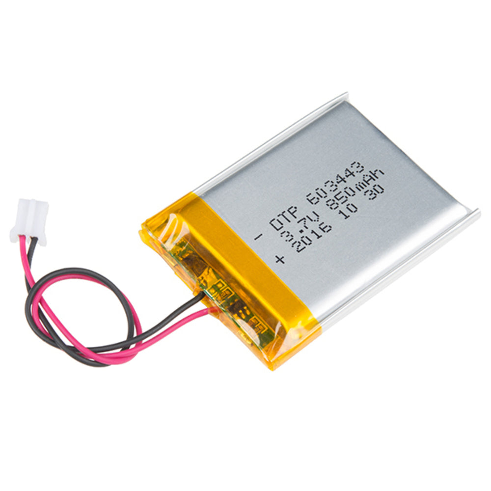 Lithium Ion Battery - 850mAh
