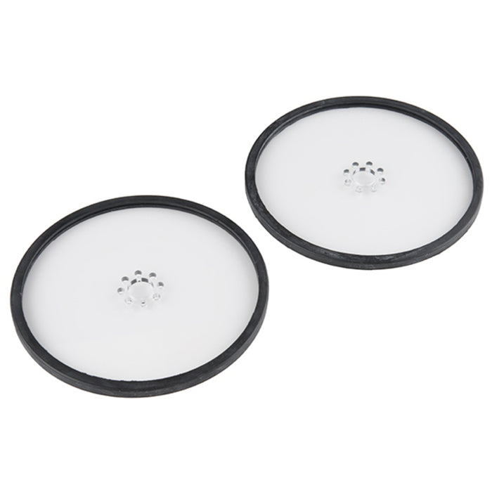 "Precision Disc Wheel - 5"" (Clear, 2 Pack)"
