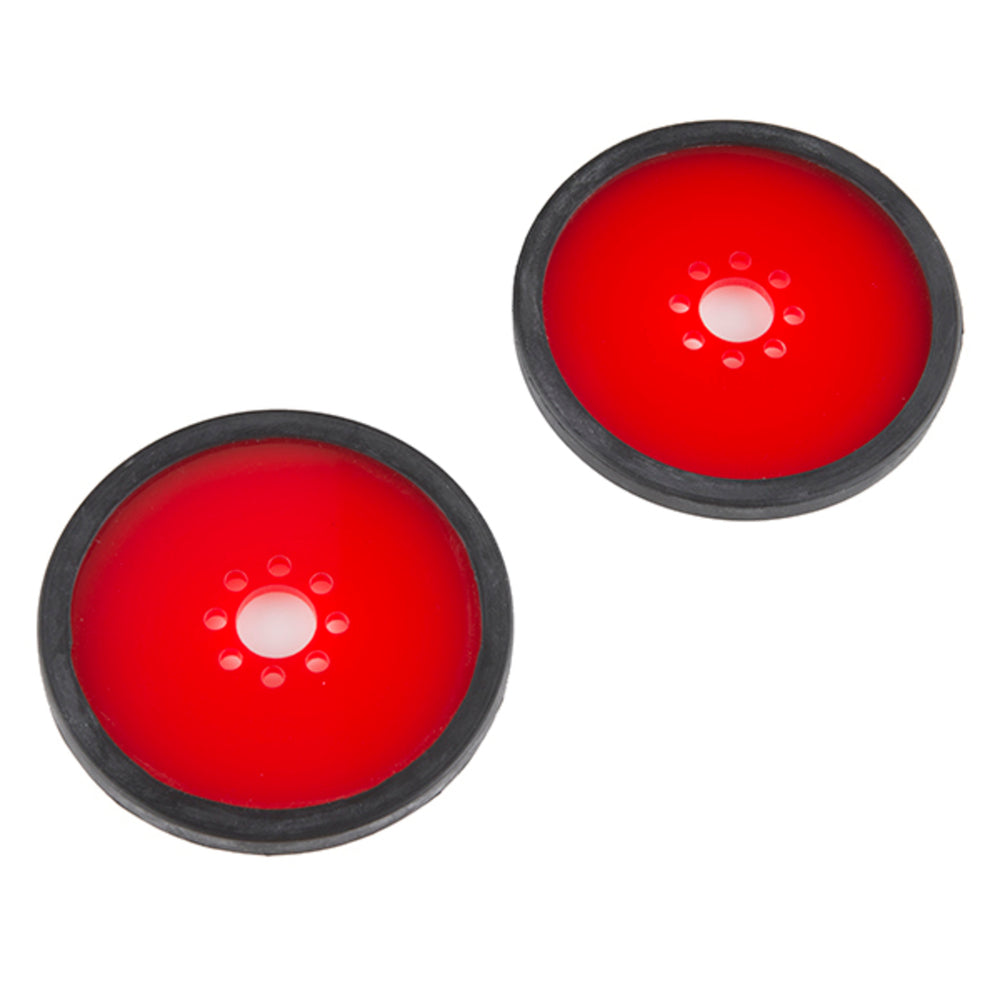 "Precision Disc Wheel - 3"" (Red, 2 Pack)"
