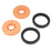 "Precision Disc Wheel - 2"" (Orange, 2 Pack)"