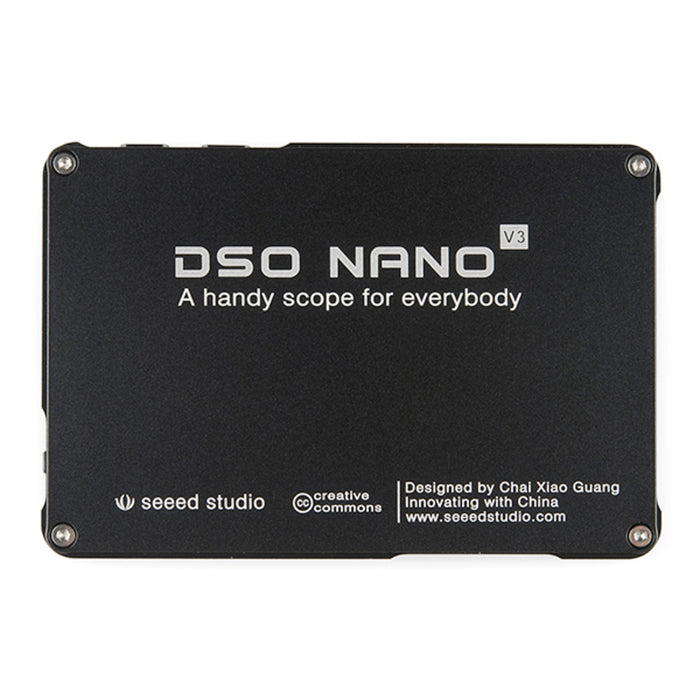 DSO Nano V3 - Pocket-Sized Digital Oscilloscope