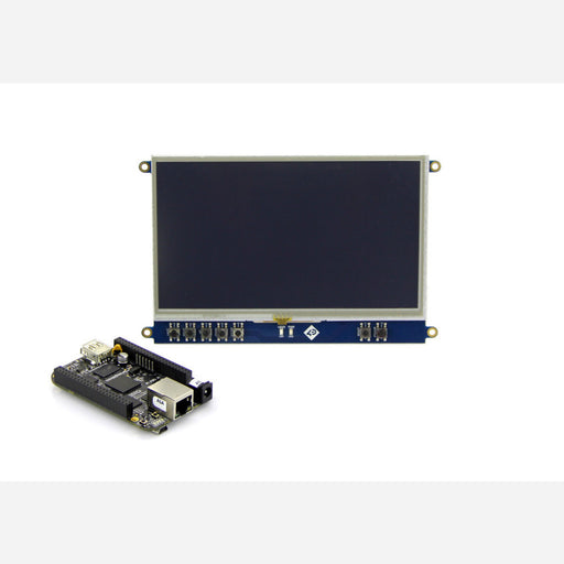"7"" LCD Cape for Beagle Bone Black - Touch Display"