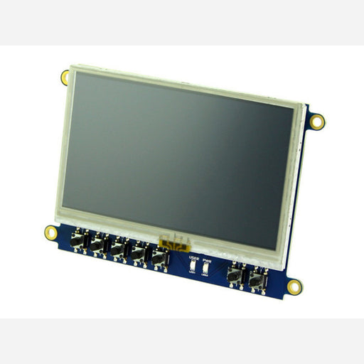 4.3'' LCD Cape for BeagleBone Black ‐ Touch Display
