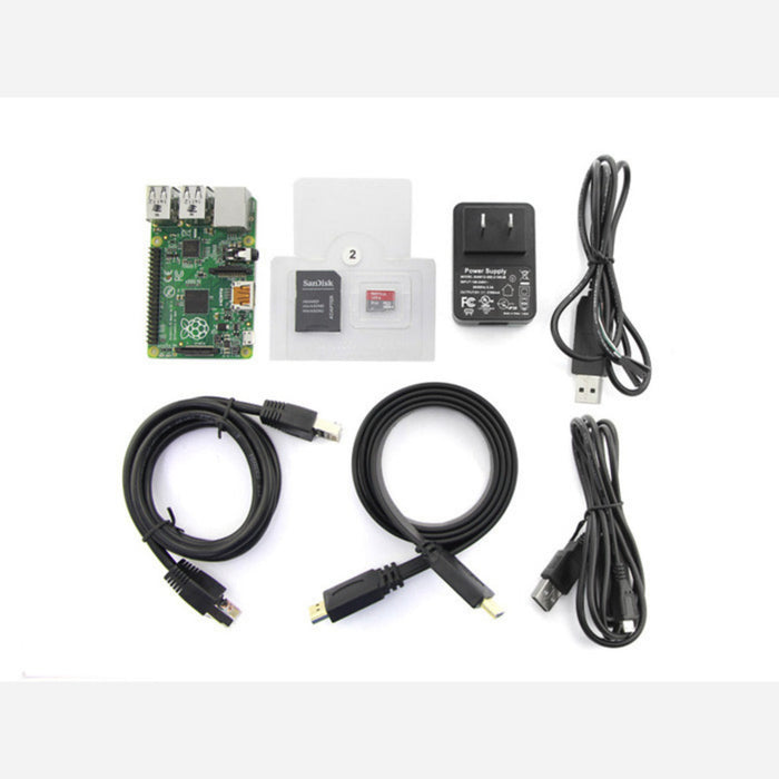 Quick Starter Kit with Raspberry Pi B+
