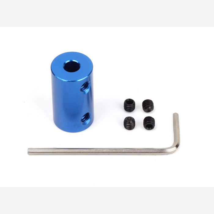 Aluminum Shaft Coupler(5-6mm)