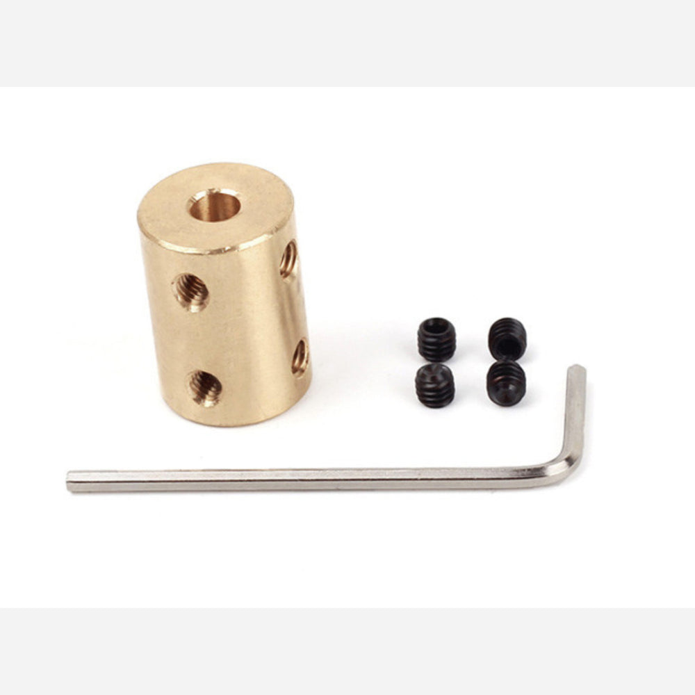 Copper Shaft Coupler(5-8mm)