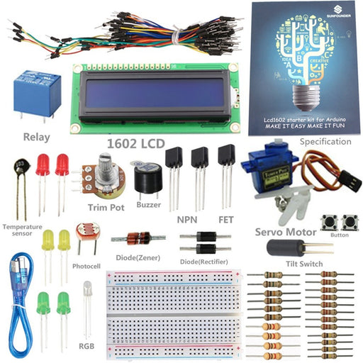 SunFounder 1602 Starter Kit V2.0 for Arduino
