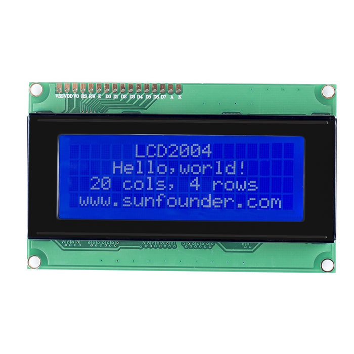 SunFounder LCD2004 Module with 3.3V Backlight
