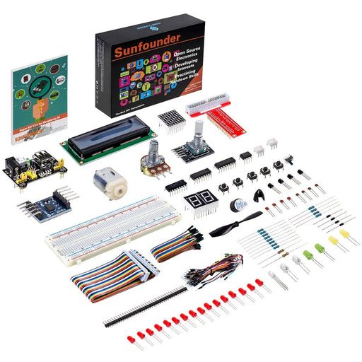 SunFounder Super Starter Kit V2.0 for Raspberry Pi