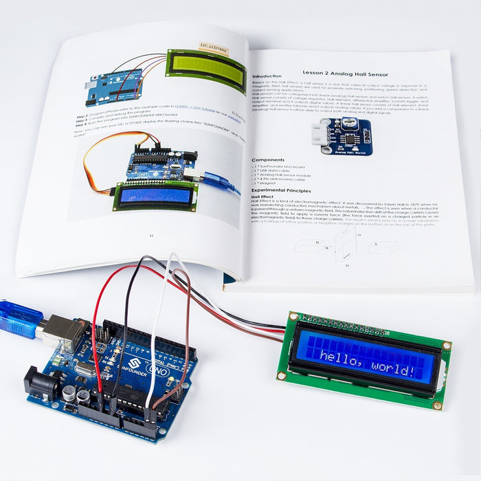 SunFounder Ultimate Sensor Kit