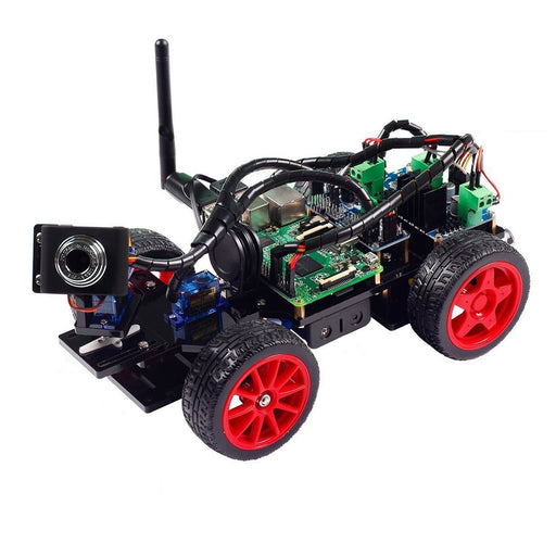 Smart Video Car Kit for Raspberry Pi with Android App