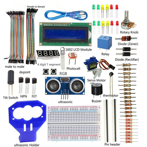 SunFounder Ultrasonic Starter Kit V2.0 for Arduino
