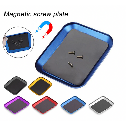 Stainless Steel Magnetic Screws Part Plate