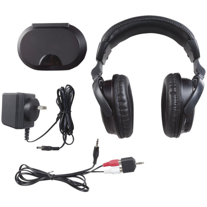 Wireless Infrared Headphones Twin Pack