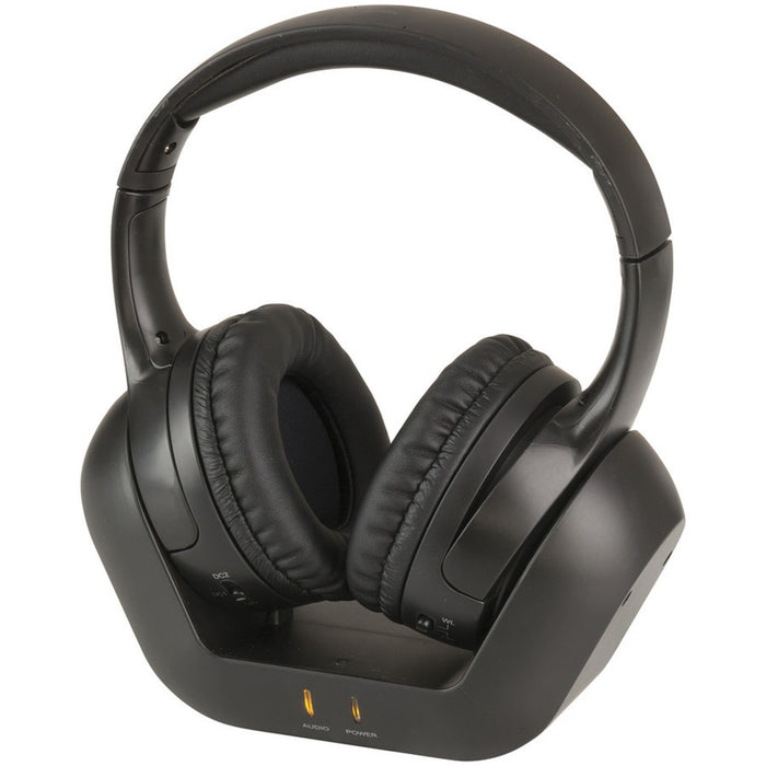 Wireless Stereo Headphones with TOSLINK - 2.4GHz