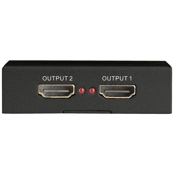 2 Port HDMI Splitter with UHD 4K Support
