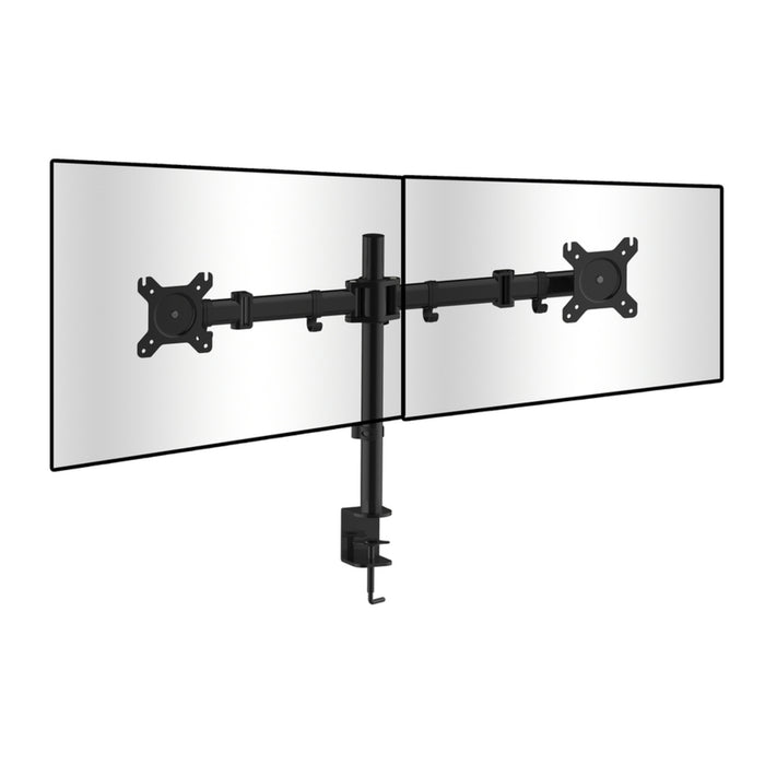Dual PC Monitor Desk Bracket