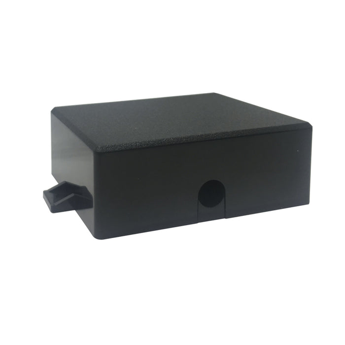 Bulkhead - Black - 87 x 67 x 31mm