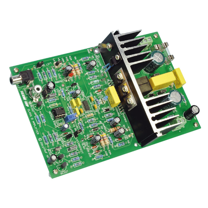 High-Power Class-D Audio Amplifier Kit