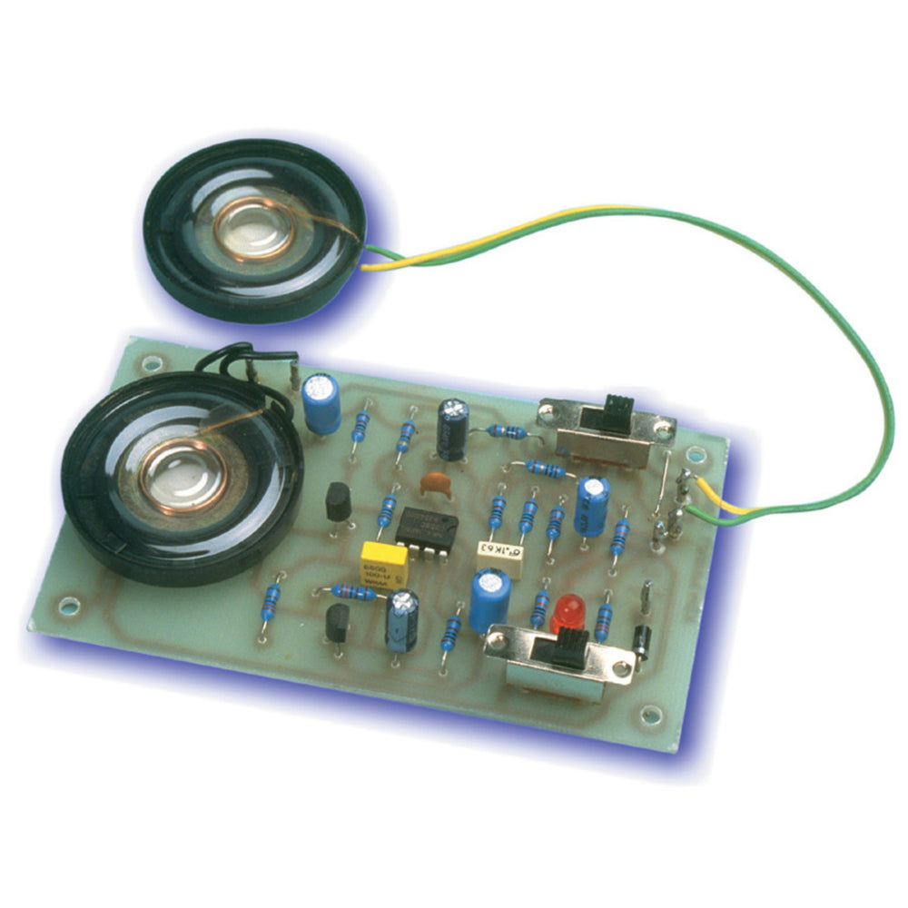 Short Circuits Three Project - Low-cost Intercom System