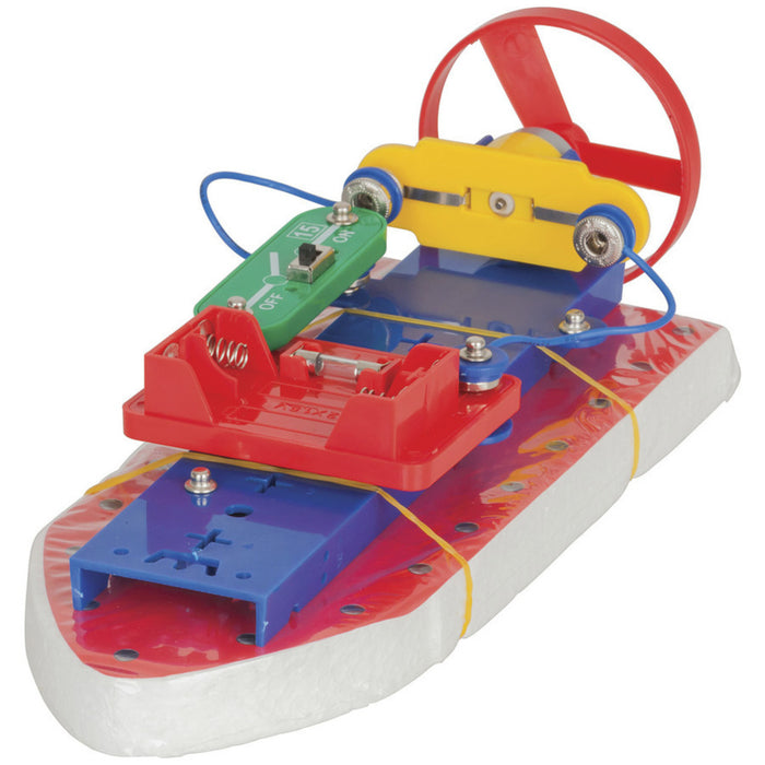 Air Boat Snap-on Electronic Project Kit