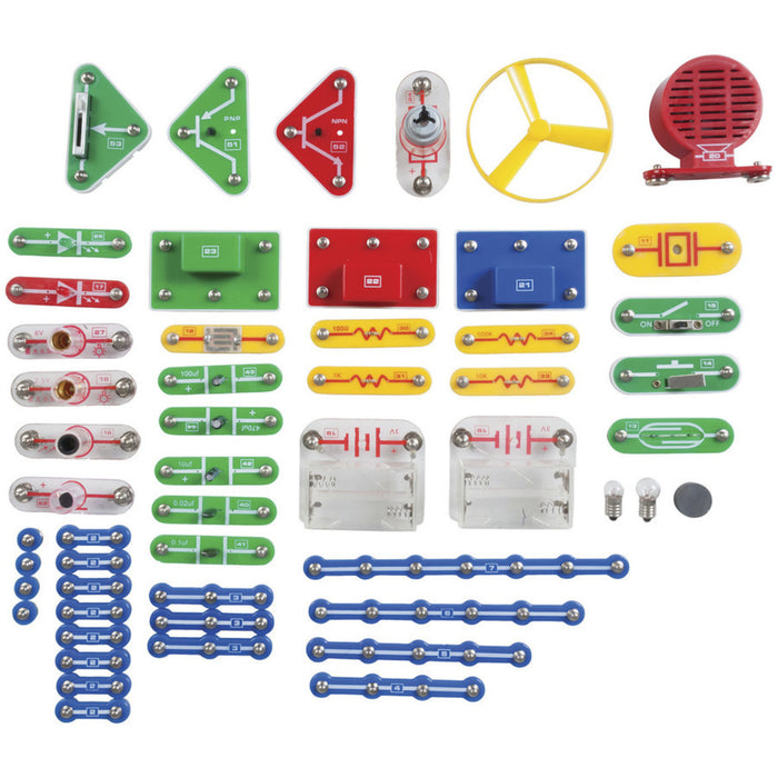 698-in-1 Snap on Electronic Project Kit