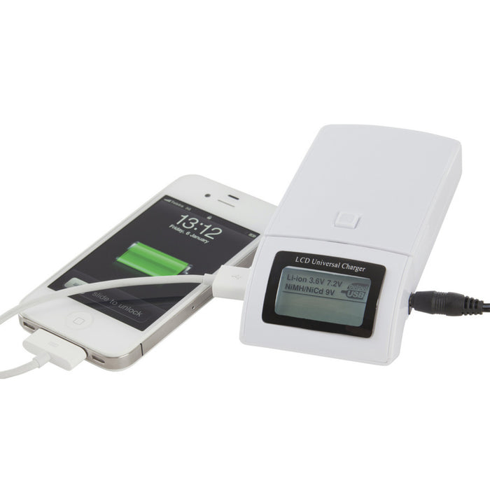 Universal Li-ion/Ni-Cd/Ni-MH Battery Charger