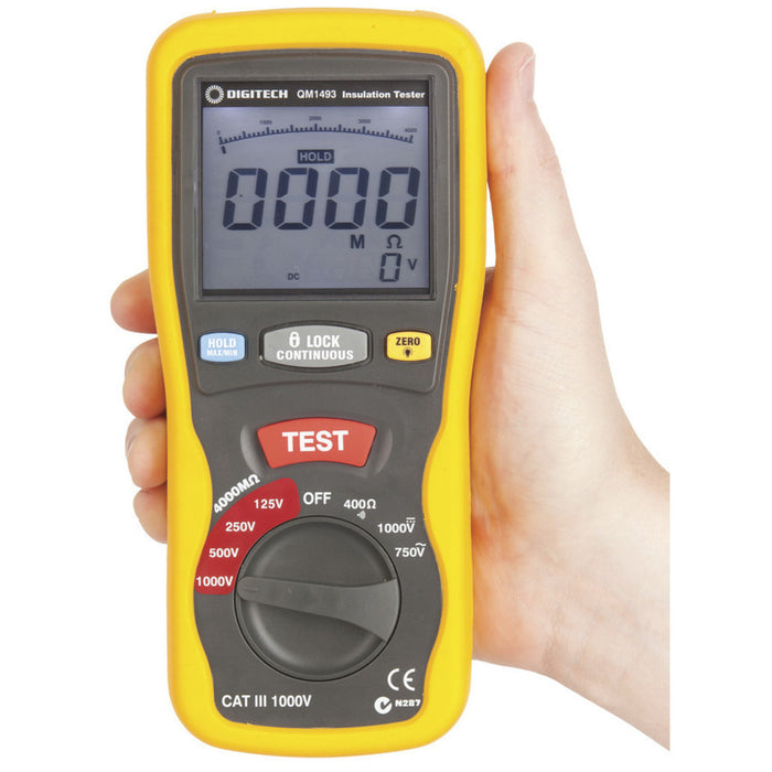 Cat III Insulation Tester/Multimeter