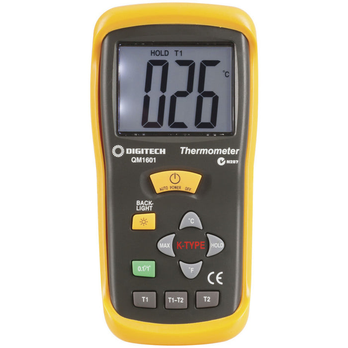 Thermocouple Thermometer - 2 Input