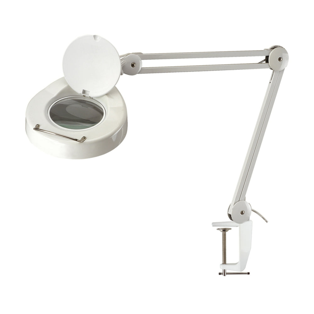 Desk Mount LED Laboratory Magnifier Lamp