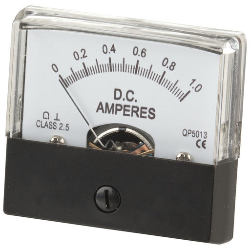 0 - 1A MU45 Panel Meter - Moving Coil Type
