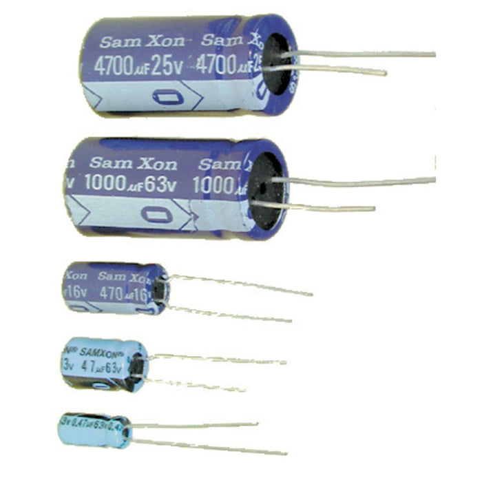 220uF 50VDC Electrolytic RB Capacitor