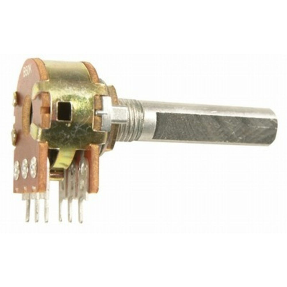 10k Ohm Logarithmic (A) Double Gang 16mm Potentiometer