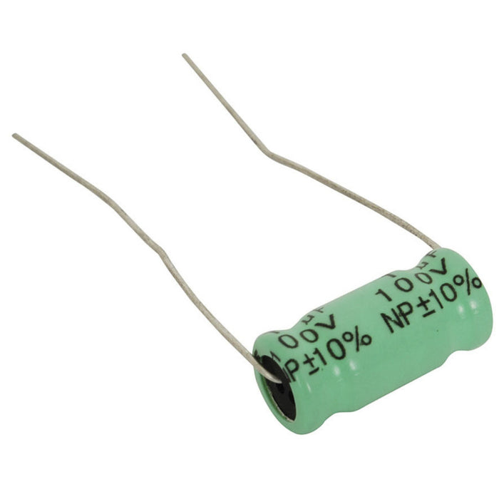2.2uF 100V Electrolytic Crossover Capacitor
