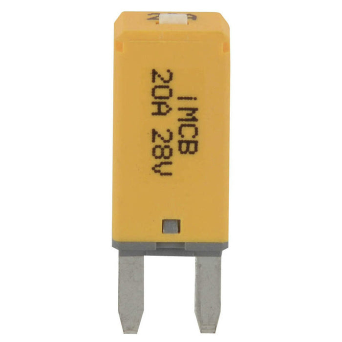 Mini Blade Circuit Breaker 20A - Manual Reset
