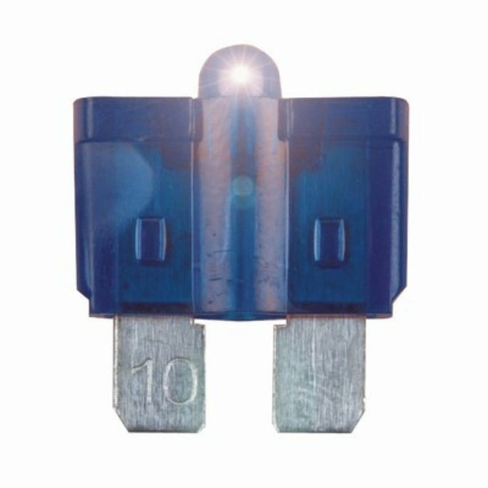 15A Blade Fuse with LED Indicator - Blue