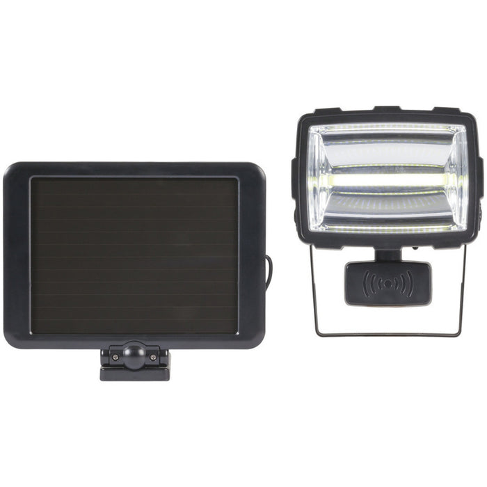 Solar Rechargeable Motion Sensing Security 7W COB LED Light