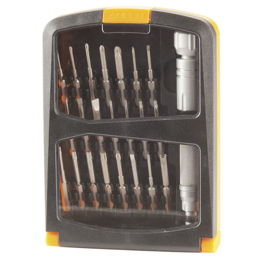 22 Piece Long Bit Screwdriver Set with Case