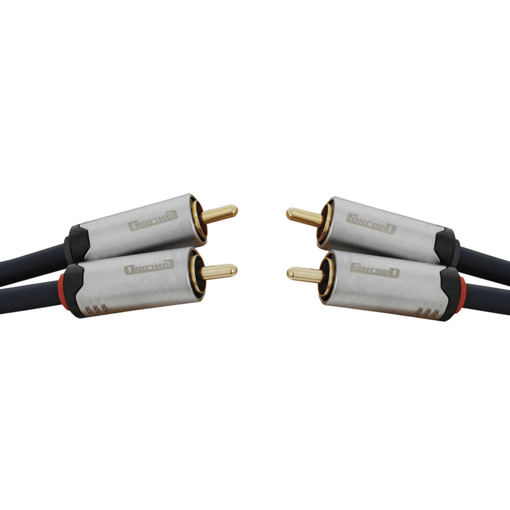 2 x RCA Plugs to 2 x RCA Plugs HQ - 3m